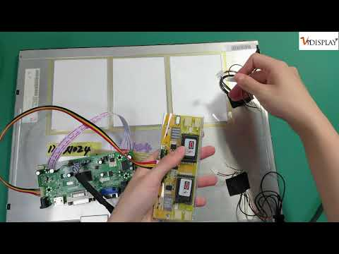 HDMI VGA LCD Controller Board M.NT68676 Work For Arcade1up's 1280x1024  LCD Screen from VS DISPLAY