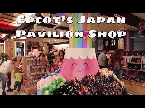 Epcot's Japan Pavilion Shop - Shopping with Jenna - Walt Disney World 2019