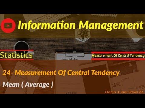 information management 12 (measurement part 2)