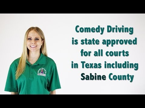 Sabine County Texas Defensive Driving | Comedy Driving Inc
