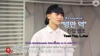 [SUB ESP] Entrevista L.Joe de TEEN TOP -Web Drama