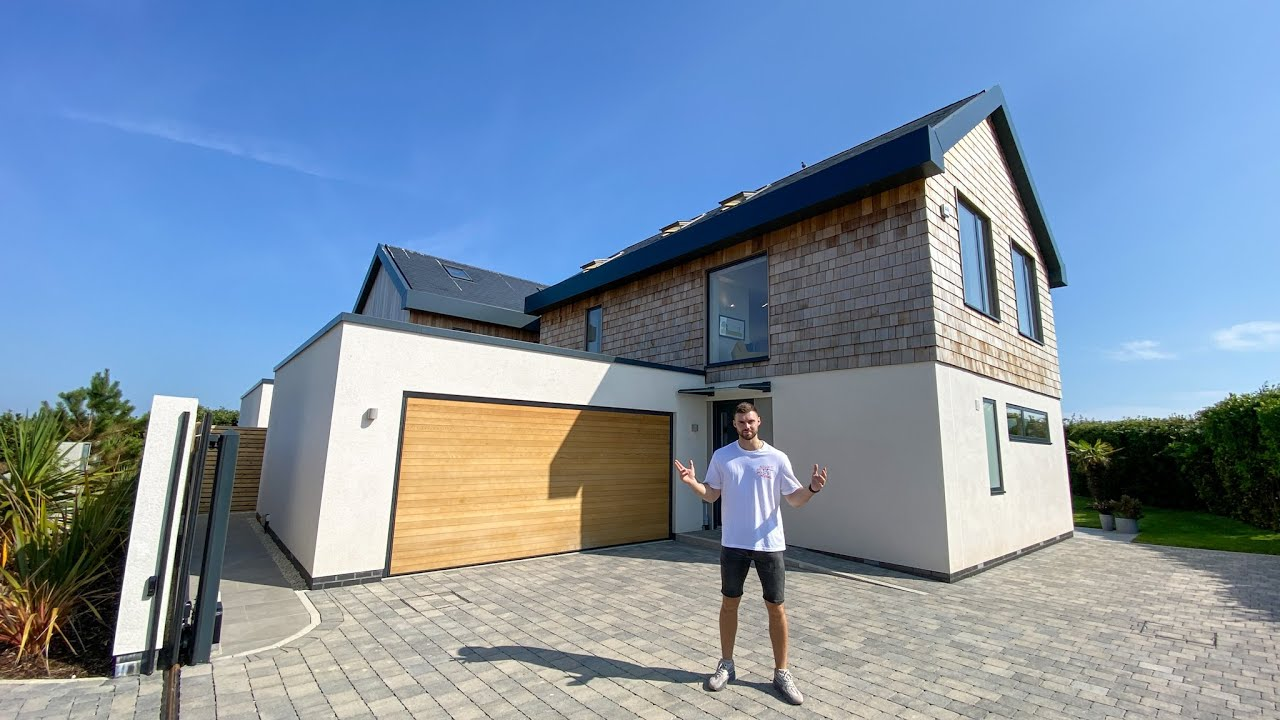 Inside a brand new £1,350,000 seaside home in the south of the UK (full tour!)