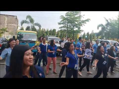 Launching of Wellness Program of SDO Muntinlupa in the tune of Yan ang Tama, Yan ang Muntinlupa