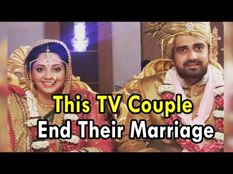 This TV couple end their marriage after 3 years