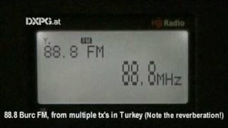 sporadic e burc fm 88 8 unid tx turkey