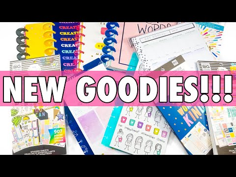 Скачать NEW RELEASE MICHAELS HAPPY PLANNER HAUL | HAPPY NOTES + STICKER  BOOK + ACCESSORIES - смотреть онлайн - Видео