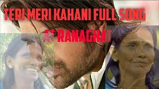 Ranu Di | Teri Meri Kahani Unplugged | The Voice of Ranaghat | My Experience