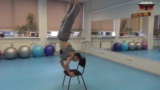 Прикладная акробатика с инвентарем