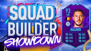 FIFA 19 SQUAD BUILDER SHOWDOWN!!! PLAYER OF THE MONTH HAZARD VS ITANI!!!