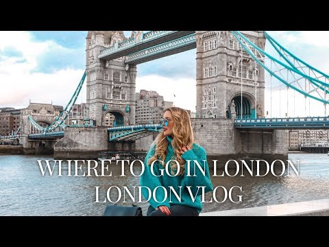 GET AROUND WITH ME  - LONDON VLOG