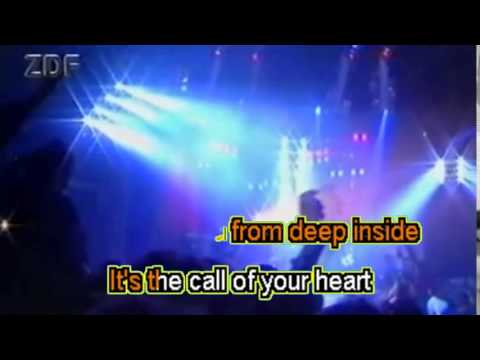 Scorpions -  Send me angel -  Karaoke