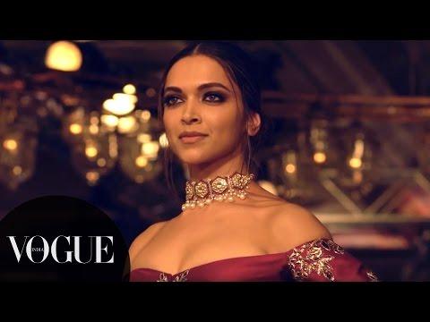 Deepika & Fawad Ramp Walk for Manish Malhotra | India Couture Week 2016 - Day 1 | VOGUE India