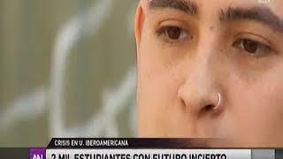 Crisis financiera en la U. Iberoamericana tiene a más de dos mil alumnos en completa incertidumbre