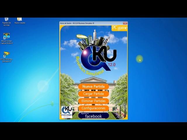 ¿Cómo instalar el Simulador de Negocios KU 12.0 Business Simulator ®?