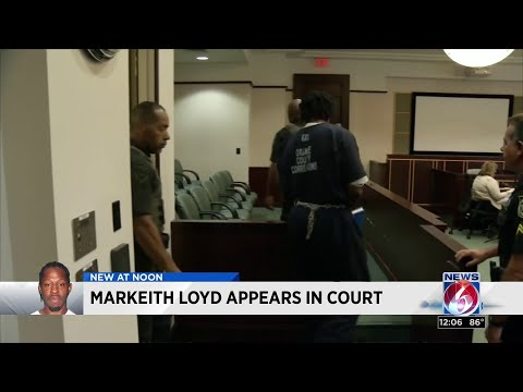 Murder suspect Markeith Loyd appears in court