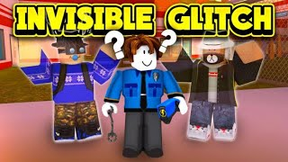 Roblox Jailbreak How to do the invisible glitch? | Works in all gadgets