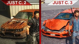 THE BIG JUST CAUSE 2 vs. JUST CAUSE 3 SBS COMPARISON | PC | ULTRA