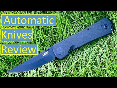 Top 10 Best Automatic/Switchblade Knives 2019 - YouTube