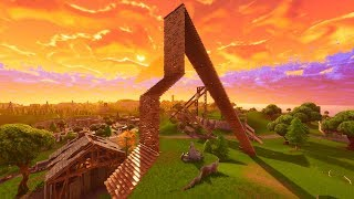 How To Get Down From A High Ground Fast! Fortnite Pro Tips