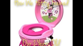 How To: Fully Potty Train By 2 years old!