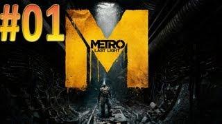 Metro Last Light - Gameplay ITA Prima ora di gioco Parte 1 di 3 RELEASE