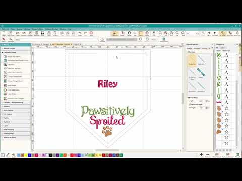 Repeat Hatch Embroidery: Export SVG to use in Cricut
