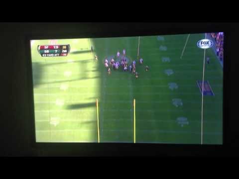 David Akers 63 yard world record field goal