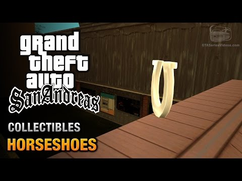 GTA San Andreas - Horseshoes