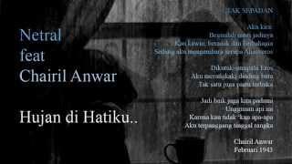 Netral feat Chairil Anwar
