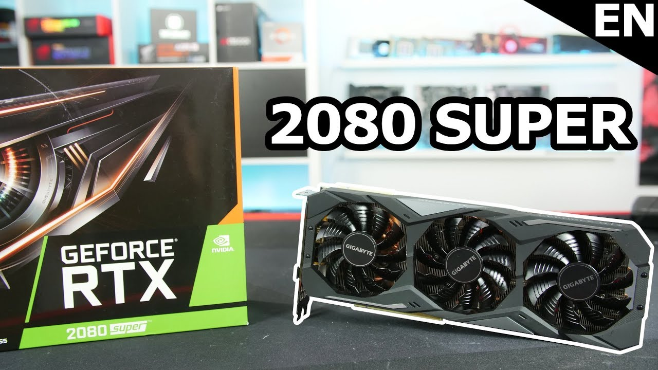 GIGABYTE RTX 2080 Super Gaming OC - The faster RTX 2080 Replacement