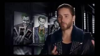 """На съемках фильма """"Отряд самоубийц"""" - Джаред Лето в роли Джокера"""