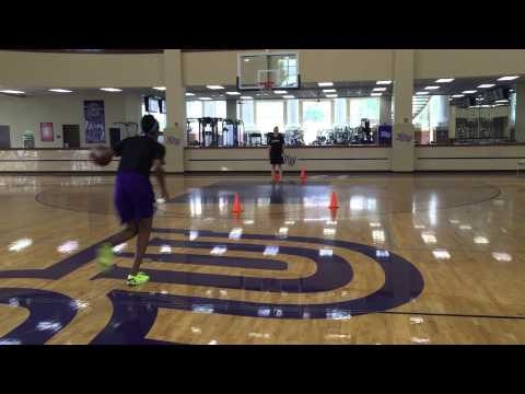 High Point WBB- Post Workouts (Trail shots)