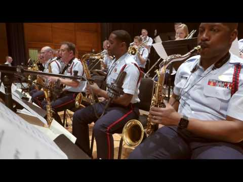 Doc Severinsen, age 89, with the United States Coast Guard Guardians Big Band