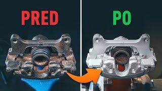 Výmena predné vľavo vpravo Lozisko kolesa na FIAT PANDA - triky na výmenu