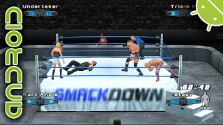 WWE SmackDown! vs. Raw 2006 | NVIDIA SHIELD Android TV (2015) | PPSSPP Emulator [1080p] | Sony PSP