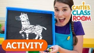 Let's Paint Zebra Stripes | Caitie's Classroom
