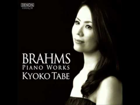 ブラームス/6つのピアノ小品op.118 第2曲 間奏曲イ長調