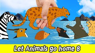 [EN] Let Animals go home 8, animal names and sounds, animals animation, collectaㅣCoCosToy