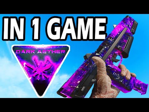 Unlocking DARK AETHER in ONLY 1 GAME, But we USE AKIMBO! |