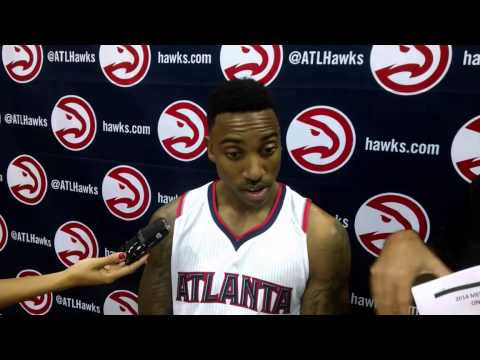 Jeff Teague Hawks Media Day 2015
