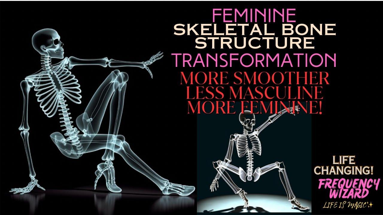 Masculine To Feminine Bone Structure Transformation Works Fast ...