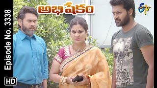 Abhishekam | 26th September 2019  | Full Episode No 3338 | ETV Telugu