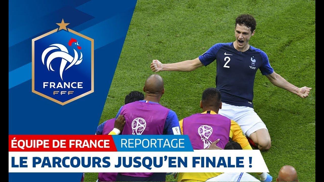 Le parcours de l'Equipe de France jusqu'en finale de Coupe du Monde !
