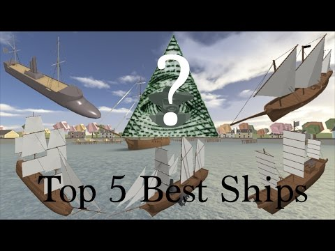 Top 5 Best Raiding/Combat Ships - [ROBLOX] Tradelands - Inspired by Nimi Does Roblox