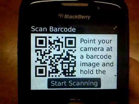 How To Scan QR Code On Blackberry Hd.3gp