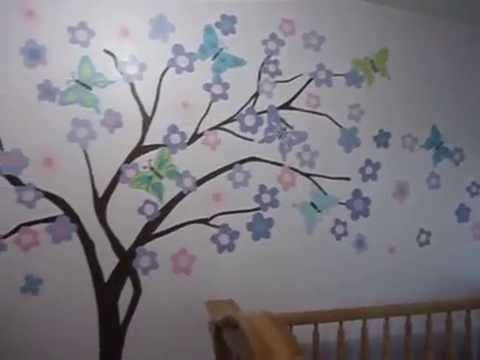 Un arbol para victoria youtube Dibujos para decorar paredes