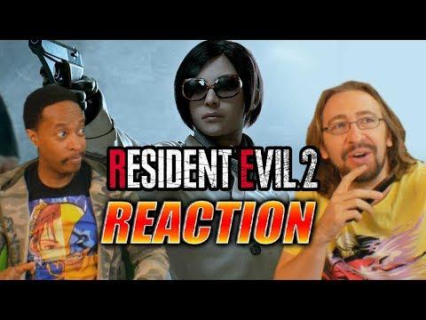 DOODS REACTS: Ada Reveal & Resident Evil 2 Trailer