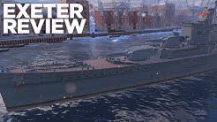 Exeter Review - World of Warships