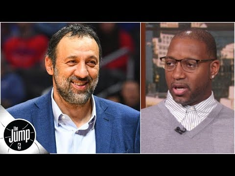 Vlade Divac has been 'phenomenal' lately as Kings GM - Tracy McGrady | The Jump