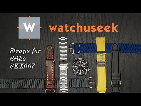 Top 6 Best Straps for Seiko SKX007: Watch Strap Review